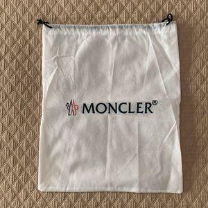 Authentic Moncler Mesh Dust Storage Travel Bag
